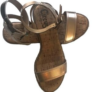Circus by Sam Edelman gold sandals - size 8.5